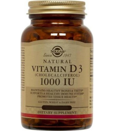 Vitamin D 1000 IU - 250 - Softgel