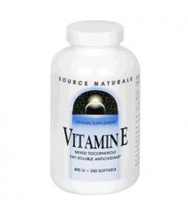 Source Naturals Vitamin E, Natural Mixed Tocopherols, 400 IU