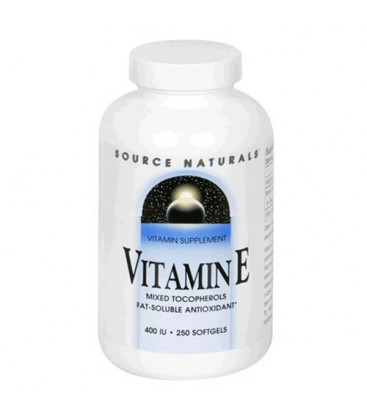 Source Naturals Vitamin E, Natural Mixed Tocopherols, 400 IU