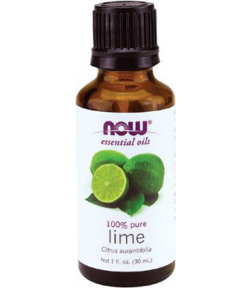 Now Foods Lime Oil, 1-Ounce (Pack of 2)