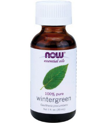 Now Foods Wintergreen Oil, 1-Ounce (pack Of 2)