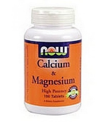 NOW Foods Calcium/magnesium 1000/500 mg, 100-Tablets (Pack of 3)