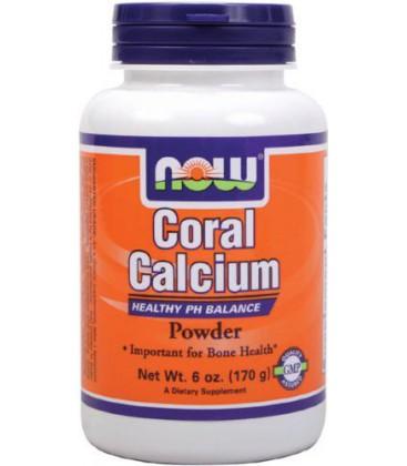 NOW Foods Coral Calcium  Powder, 6 Ounces