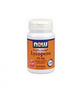 NOW Foods Lycopene, 50 Softgels / 20mg