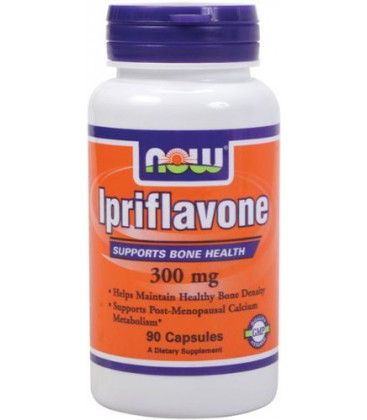 NOW Foods Ipriflavone 300mg, 90 Capsules