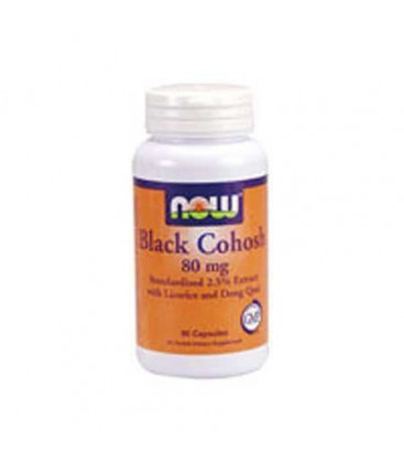 Black Cohosh, 80 mg w/ Licorice Root and Dong Quai - 90 Caps
