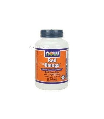 Now Foods Red Omega Soft-gels, 180-Count
