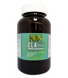 Pure CLA 1250 Supplement - Super Hi-Potency Softgels - GMO-Free - Try it 100% Risk Free! (180 Softgels)