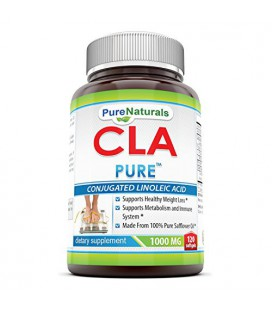 Pure Naturals CLA Softgels, 1000 mg, 120 Count