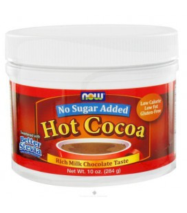 Hot Cocoa No Sugar Added 10 Ounces