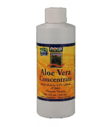 Now Foods Aloe Vera Concentrate, 4 oz. (2-pack)