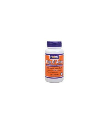Now Foods Pau D' Arco 500mg, Capsules, 100-Count