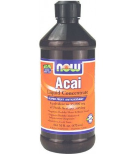 NOW Foods Acai Liquid Concentrate, 16 ounce