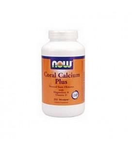 NOW Foods Coral Calcium Plus, 250 Capsules