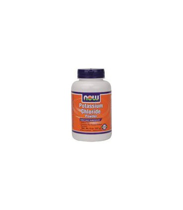 Now Foods Potassium Chloride Powder, 8 oz (Pack of 2)