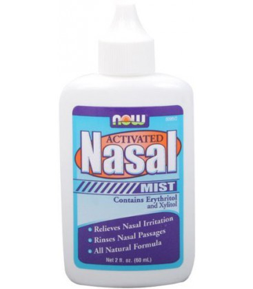 NOW Foods Activated Nasal Mist 2 Ounces