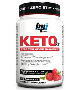 BPI Sports Herbal Mineral Supplement, Keto-XT, 60 Count