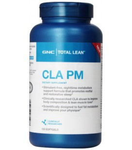 GNC Total CLA PM Nutritional Supplement, 120 Count