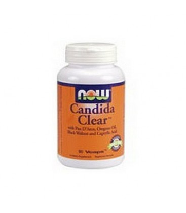 NOW Foods Candida Clear Formula, 90 Capsules (Pack of 2)