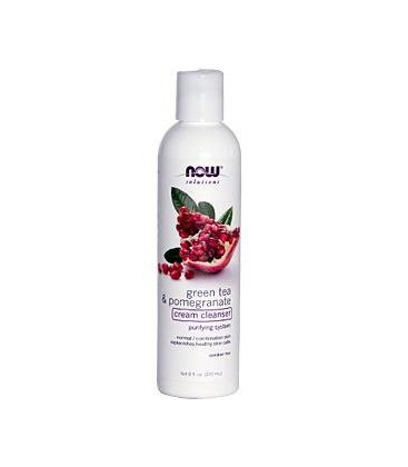 Now Foods Green Tea Cleanser, Pomegranate, 8-Ounce