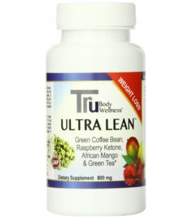 Trubody Wellness Ultra Lean 4 in 1 Weight Loss Supplement, 60 Count, 800mg