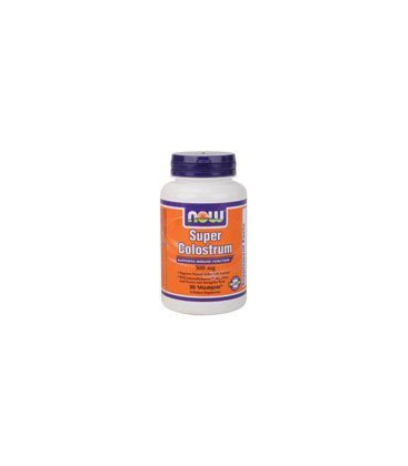 Now Foods Super Colostrum 500mg, Veg-Capsules, 90-Count