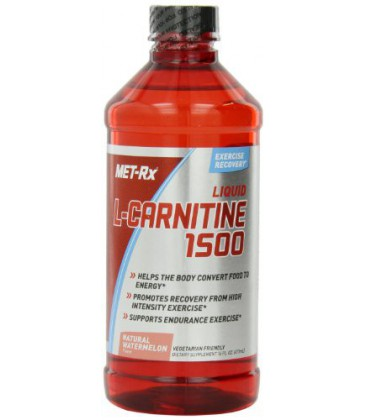 MET-Rx L-Carnitine Diet Supplement, Watermelon, 16 Fluid Ounce
