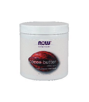 Now Foods Cocoa Butter (100% Pure) - 7 oz. ( Multi-Pack)