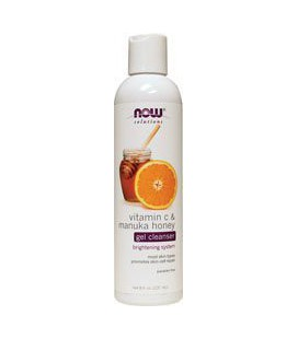 Solutions Vitamin C & Manuka Honey Gel Cleanser - 8 fl. oz. - Cream