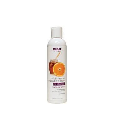 Solutions Vitamin C & Manuka Honey Gel Cleanser - 8 fl. oz. - Cream