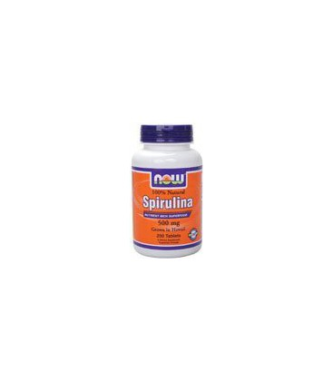 Spirulina 500 mg 100% Natural 200 Tablets
