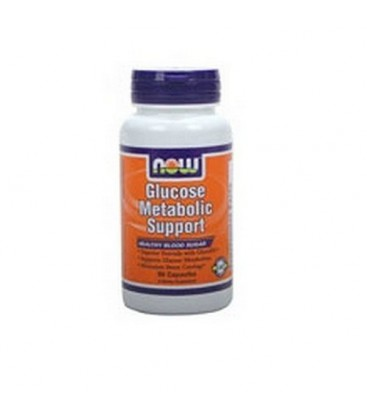NOW Foods Glucose Metabolic Support, 90 Capsules