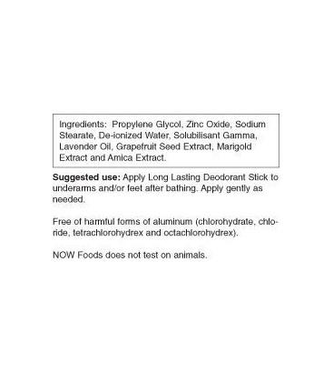 Long Lasting Deodorant Stick 2.2 oz