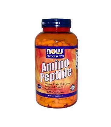 Now Foods Amino Peptide, Capsules, 300-Count