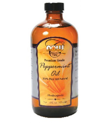 Now Foods Peppermint Oil 100% Pure, 16 oz (Pack of 2)