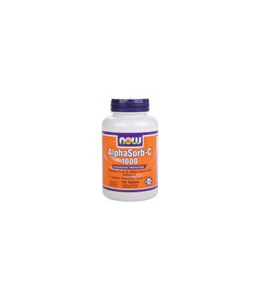 Now Foods AlphaSorb-C 1000mg, Tablets, 120-Count