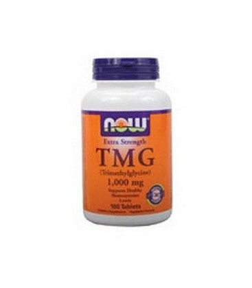 NOW Foods Tmg 1000mg, 100 Tablets (Pack of 2)