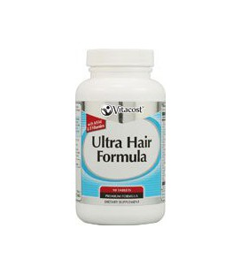 Vitacost Ultra Hair Formula with MSM & B Vitamins -- 90 Tablets