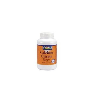 Now Foods Calcium Citrate, 8 oz (Pack of 2)