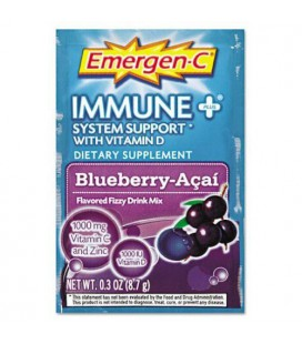 Emergen-C Immune +, Blueberry-Acai, 30 Count
