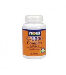 NOW Foods C-1000 Complex, 90 Tablets / 1000mg (Pack of 2)
