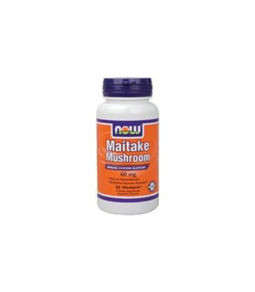 NOW Foods, MAITAKE MUSHROOMS 60mg 60 VCAPS