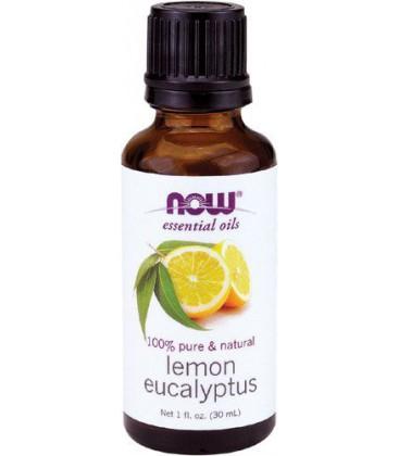 NOW Foods Lemon Eucalyptus Oil, 1 ounce