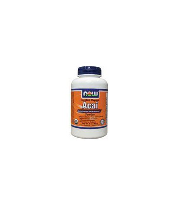Now Foods Certified Organic Acai Powder, 3-Ounce
