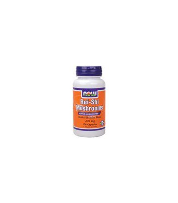 Now Foods Rei-shi Mushrooms 270mg, Capsules, 100-Count