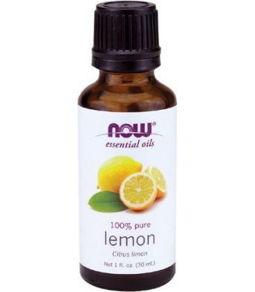Now Foods Lemon Oil, 1-Ounce (Pack of 2)