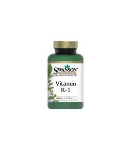Vitamin K 100 mcg 100 Tabs
