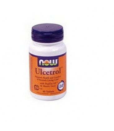 NOW Foods Ulcetrol, 60 Tablets