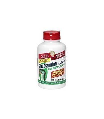 Glucosamine Plus MSM - 200 Tablets