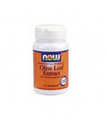 NOW Foods Olive Leaf Extract Extra Strength, 50 Capsules